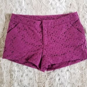 Nicole by Nicole Miller lace shorts